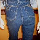 CLASSIC JORDACHE Vintage DISCO DESIGNER Denim Blue Jeans  34/32 70s 80s unisex