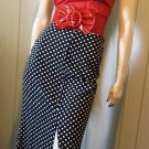 Retro Cutie High Waisted Polka Dot Pinup Pencil Skirt XS