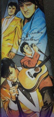 Retro 90s ELVIS PRESLEY Original Ralph Marlin Classic Elvis Men's Vintage Neck Tie