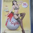 Frederick's of Hollywood Lingerie Pinup Catalog Holiday 2007 featuring Dita Von Teese