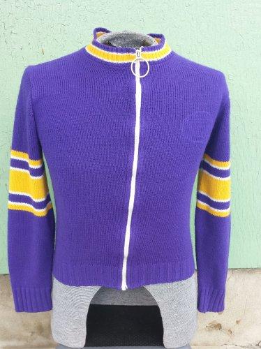 Vintage 70s NFL Stah Urban Boy's Sports Team Varsity Sweater