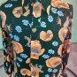 Vintage MOD 70s Cheetahs in a Psychedelic Jungle Mens Novelty Print Disco Cat Shirt Sz L
