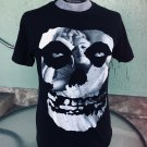 MISFITS Skull & Marilyn Monroe Decal Men's Punk Rebel Rocker T-shirt L.