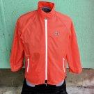 Vintage 70s ALLIGATOR LACOSTE Red Sporty Mens Old School Nylon Windbreaker Jacket Sz L
