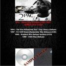 2Pac - Album Rare & Deluxe 1996-1999 (Silver Pressed 6CD)*