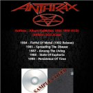 Anthrax - Album Collection 1984-1990 (5CD)