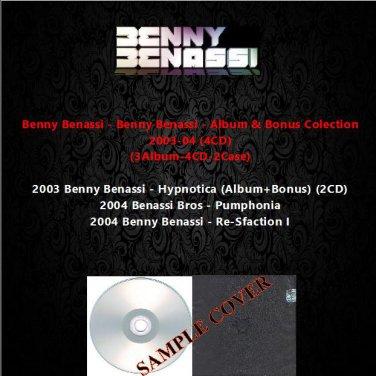 Benny Benassi - Album & Bonus Colection 2003-2004 (4CD)