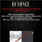 Beyonce - Album & Singles Deluxe & platinum 2009 (6CD)