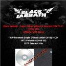 Black Sabbath - Super Deluxe Album & Greatest Hits 1970-1977 (2016) 6CD