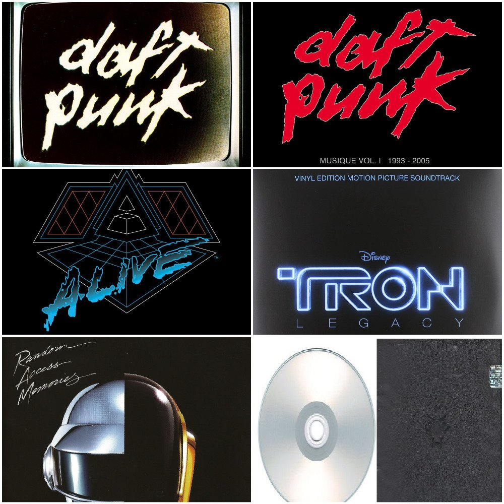 Daft Punk - Album Deluxe,Live & Remixes 2006-2013 (6CD)