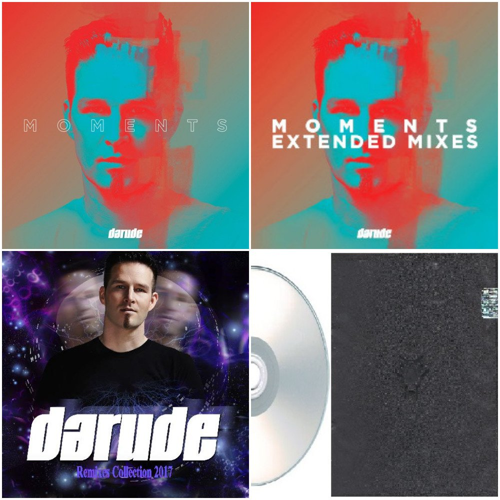 Darude - Album,Extended Mixes & Remixes 2015-2017 (Silver Pressed 5CD)*