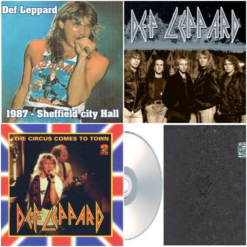 Def Leppard - Live & Unreleased Collection 1987-1993 (Silver Pressed 6CD)*