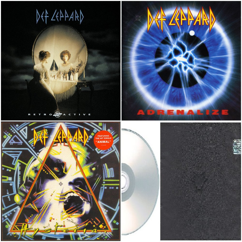 Def Leppard - Remastered Deluxe Edition 2008-2009 (Silver Pressed 5CD)*
