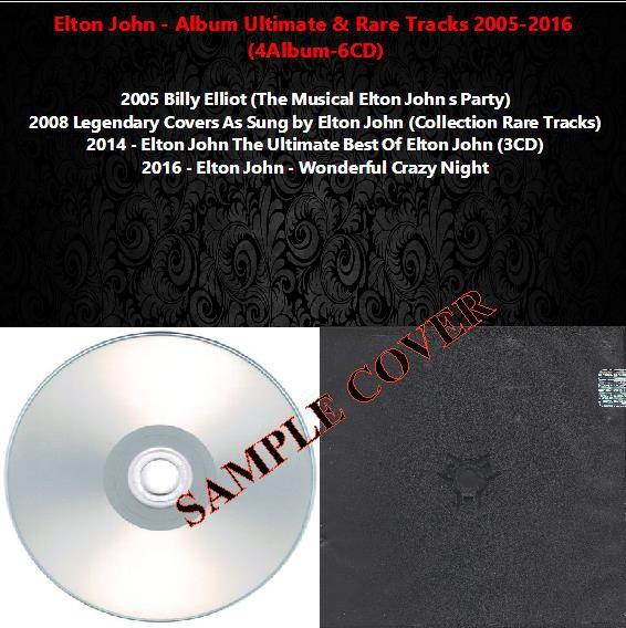 Elton John - Album Ultimate & Rare Tracks 2005-2016 (Silver Pressed 6CD)*
