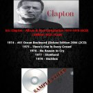 Eric Clapton - Album & Rare Compilation 1974-1978 (6CD)
