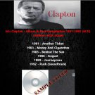 Eric Clapton - Album & Rare Compilation 1981-1992 (6CD)