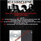 Europe - Rare & Unreleased Live Collection 1986-87 (6CD)
