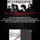 Europe - Rare & Unreleased Live Collection 2011-2013 (5CD)