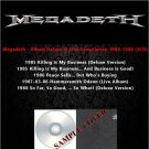 Megadeth - Album Deluxe & Live Compilation 1985-1988 (5CD)
