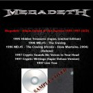 Megadeth - Album Deluxe & Live Rarities 1995-1997 (6CD)