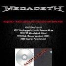 Megadeth - Album Deluxe & Live Rarities 1997-2000 (Silver Pressed 6CD)*