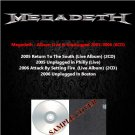 Megadeth - Album Live & Unplugged 2005-2006 (6CD)