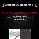 Megadeth - Album Extended & Bonus Versions 2007 (6CD)