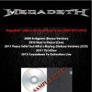Megadeth - Album Bonus,Deluxe & Live 2009-2013 (6CD)