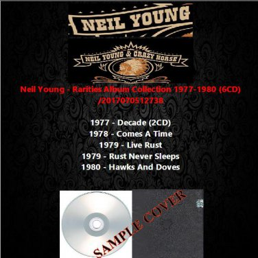Neil Young - Rarities Album Collection 1977-1980 (6CD)
