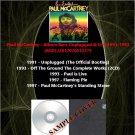 Paul McCartney - Album Rare Unplugged & Live 1991-1997 (6CD)
