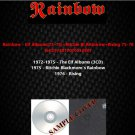 Rainbow - Elf Albums72-75/Ritchie Black Rainbow/Rising 75-76 (5CD)