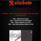 Rainbow - Deluxe Album & Live Rarities 1983-1986 (6CD)