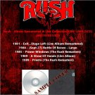 Rush - Album Remastered & Live Collection 1981-1989 (5CD)