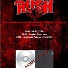 Rush - Snakes & Arrows (Album+live)+Gold 2006-2008 (Silver Pressed Promo 5CD)*