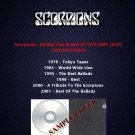 Scorpions - Rarities Live & Best Of 1978-2001 (6CD)
