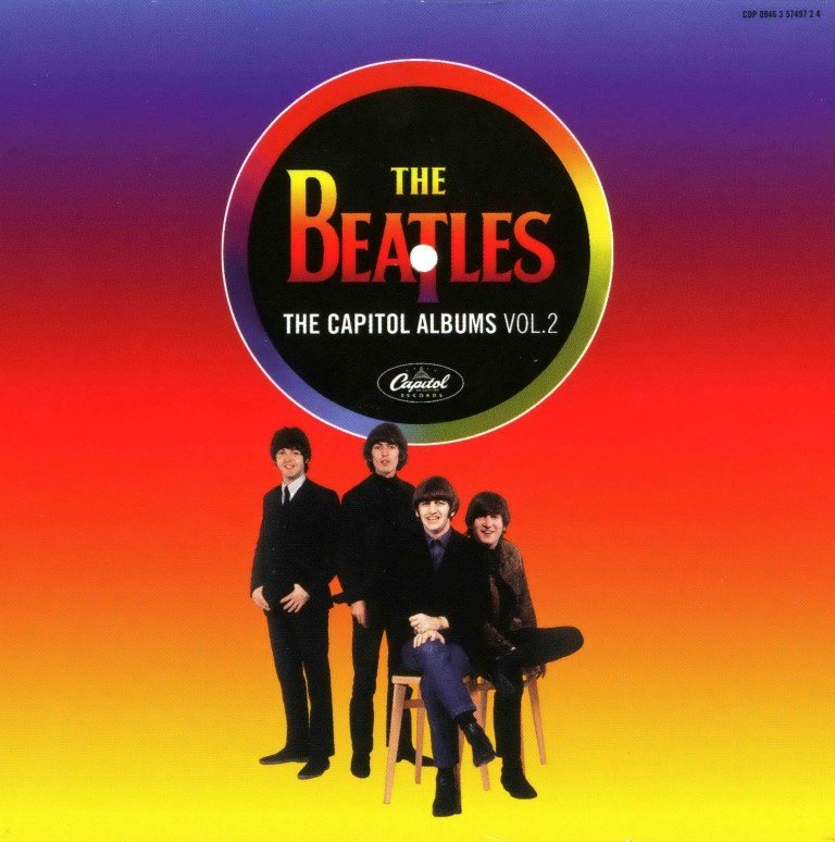 The Beatles - The Capitol Albums Volume 2 2006 (4CD)