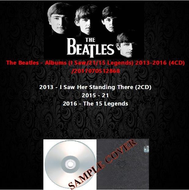 The Beatles - Albums (I Saw/21/15 Legends) 2013-2016 (4CD)