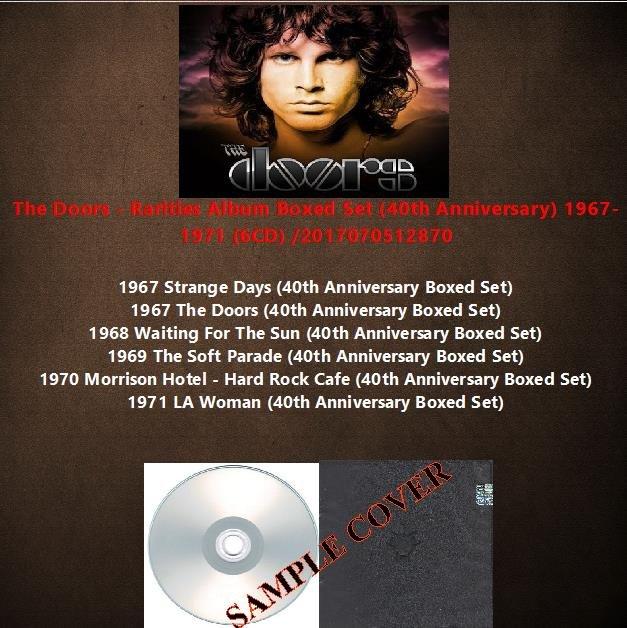 The Doors - Rarities Album Boxed Set (40th Anniversary) 1967-1971 (6CD)