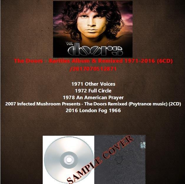 The Doors - Rarities Album & Remixed 1971-2016 (6CD)