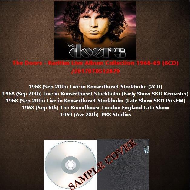The Doors - Rarities Live Album Collection 1968-69 (6CD)