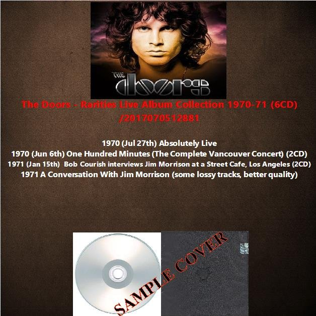 The Doors - Rarities Live Album Collection 1970-71 (6CD)