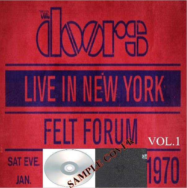 The Doors - Live In New York 1970 Vol.1 (Silver Pressed Promo 4CD)*