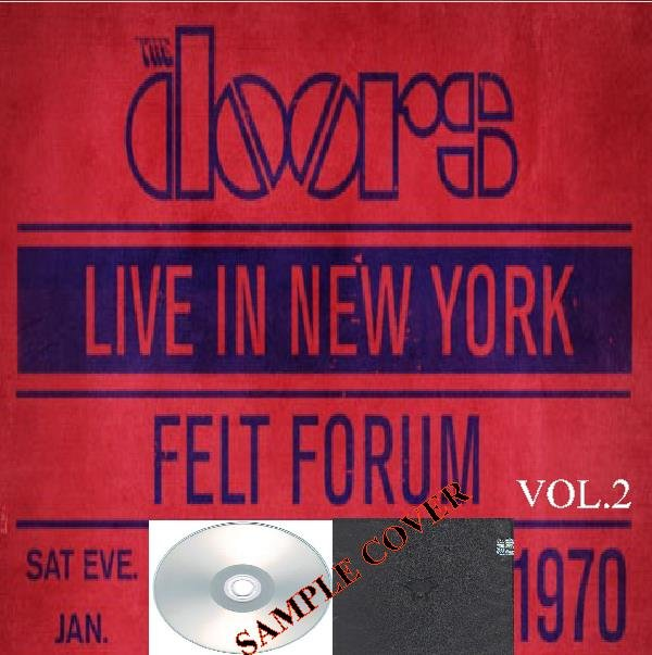 The Doors - Live In New York 1970 Vol.2 (Silver Pressed Promo 3CD)*