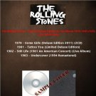 The Rolling Stones - Limited Deluxe Edition & Live Album 1978-1983 (Silver Pressed 5CD)*