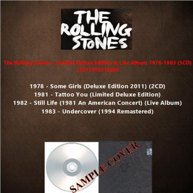 The Rolling Stones - Limited Deluxe Edition & Live Album