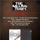 The Rolling Stones - Live Album & Very Best Of 1993-2001 (6CD)