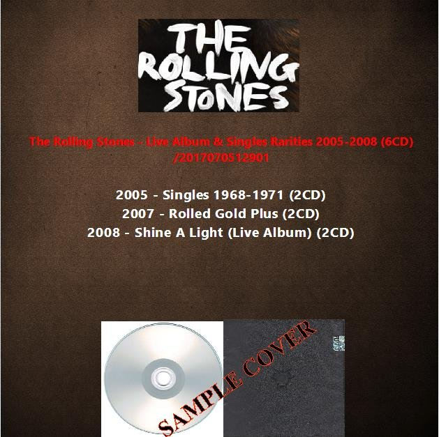 The Rolling Stones - Live Album & Singles Rarities 2005-2008 (6CD)