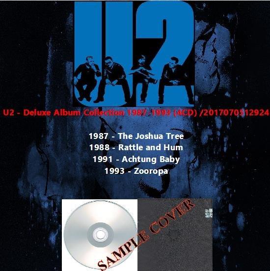 U2 - Deluxe Album Collection 1987-1993 (4CD)