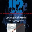 U2 - Deluxe Album Collection 1997-2011 (5CD)