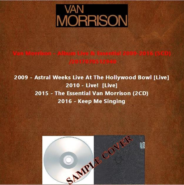 Van Morrison - Album Live & Essential 2009-2016 (5CD)